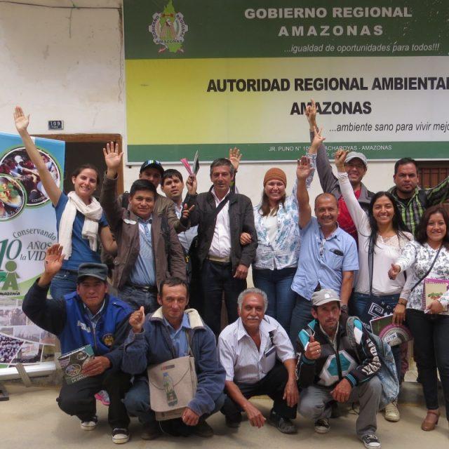 AMAZONAS comprometida con la conservación privada y comunal