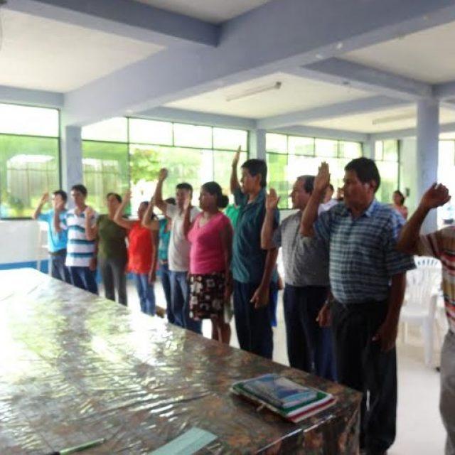 Juramentó la Primera Ronda Campesina Ecológica de San Martín integrada por concesionarios para conservación