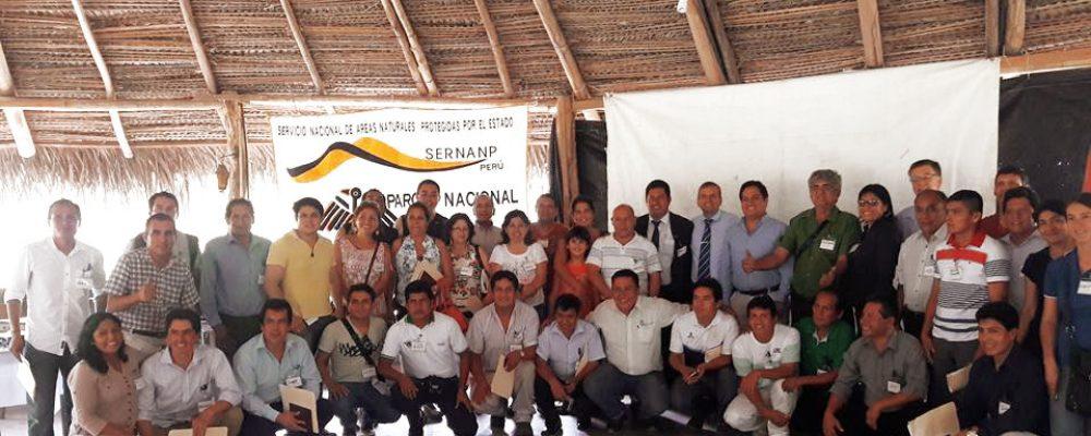 SERNANP reconoce Comité de Gestión del PNRA