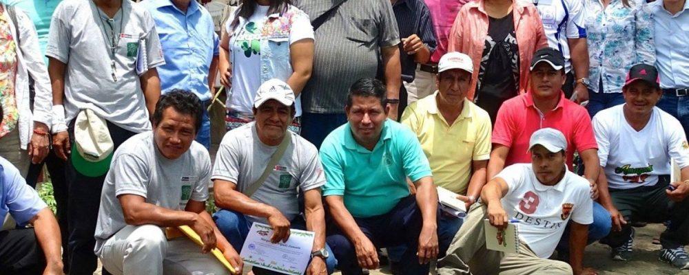 La Red de Concesionarios para Conservación de San Martín, firmes con el compromiso de cero deforestación