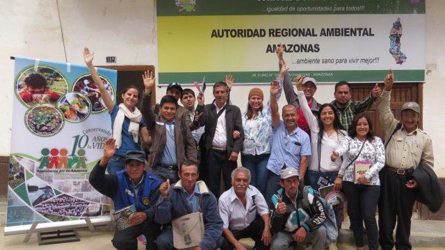 Taller de diagnóstico con la Red de Iniciativas de Conservación de la Diversidad Biológica de Amazonas – RED DBA